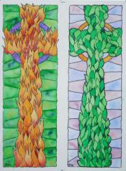 Celtic Cross Bookmarks
